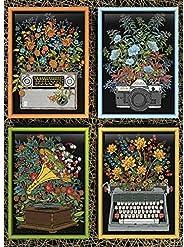Cobble Hill 拼图花朵 1000 片花朵和花园拼图