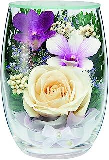 【佛坛是年节】 永生花 人造花 花束 佛具 供人 小巧 可爱 时尚 百丽 白玫瑰 7979