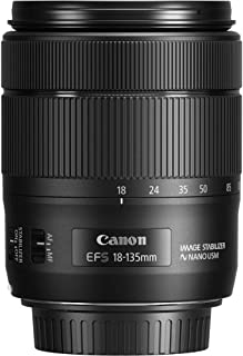 Canon 1276C005 EF-S 18-135 mm f/3.5-5.6 IS USM 镜片 - 黑色