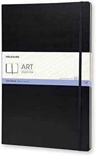 Moleskine创意笔记本,Sketchbook,A3,165G纸,硬封面,黑色