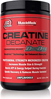 MuscleMeds 肌酸 Decanate 粉末 300 克