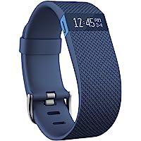 Fitbit Charge HR 智能手环 心率实时监测 自动睡眠记录 来电显示 运动蓝牙手表计步器 蓝色 S FB40…