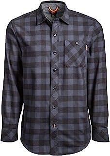 Timberland 添柏岚 PRO 男式 A1V49 Woodfort 中等重量法兰绒工作衬衫