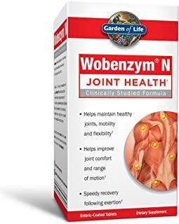 Garden of Life 生命花园 关节支持补剂——含Wobenzym N全身性酶,200片
