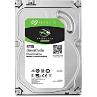 SEAGATE 内置硬盘3.5英寸 4TB 适用于PC用户 BarraCuda ( SATA 6Gb/s / 5400r…