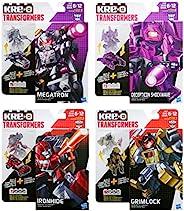 Kre-O Transformers Kreon Battle Changers 4 件套:Megatron、Decepticon Shockwave、Ironhide 和 Grimlock