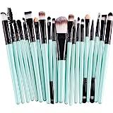 AprFairy 眼部化妆刷套装,20 件眼影刷套装,专业化妆刷,眼影遮瑕,眉毛眼线笔,混合化妆刷,软合成羊毛