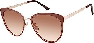 Vince Camuto Vc901 时尚防紫外线猫眼太阳镜 | 四季 | 独特风格,57 毫米