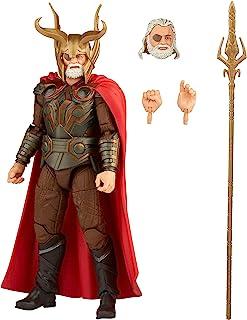 Hasbro 孩之宝 Marvel 漫威传奇系列 15 厘米 Odin 动作人偶,无限传奇人物,高级设计和 4 个配件
