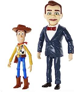 Pixar Disney《玩具总动员》Benson and Woody 公仔2件装