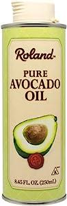 Roland Foods 纯鳄梨油,进口食品,8.45盎司,250毫升,罐装