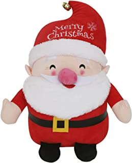 圣诞快乐装饰圣诞老人毛绒填充玩具娃娃创意礼品木偶玩偶家庭桌面装饰品 14.5 英寸