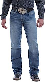 Cinch 男式 Grant Med Stone 休闲喇叭牛仔裤