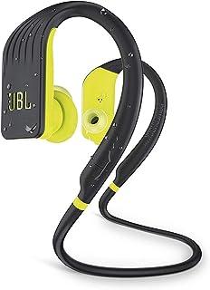 JBL Endurance Jump 防水无线运动入耳式耳机,带一键式遥控装置(黄色)