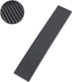 WENKO 滴漏垫 Slim 黑色 8 x 42 厘米 - 适用于抽屉,塑料(TPR),42 x 1 x 8厘米,黑色