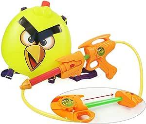 HABIBI 愤怒的小鸟背包式水枪 气压水枪 儿童夏日戏水玩具(颜色随机发)