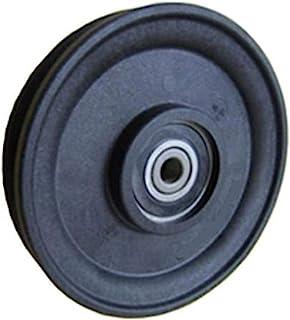 Fenner Drives RA2701 PowerMax 5/32 英寸电缆滑轮,玻璃加固尼龙,17 毫米孔径,2.75 英寸外径,2.475 毫米宽度