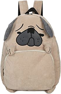 EBISSY 狗形背包 [ 可爱的 Troubled 脸巴 ] 女童动物背包