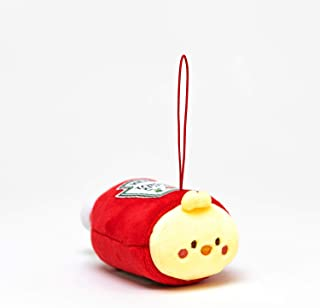 Anirollz x Heinz Tomato 番茄酱迷你毛绒钥匙链 超小号 7.62 cm Chickiroll
