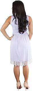 饰品 YOUR 王子女式全背太阳裙白色蕾丝