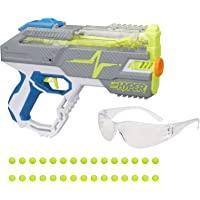NERF Hyper Rush-40 Pump-Action 玩具枪 30 个超圆 眼镜套 高达 110 FPS 速度…