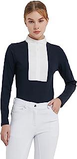 HR Farm 女式柔软衬衫长袖骑行衬衫