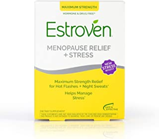 Estroven Maximum Strength+Energy 更年期减轻不适膳食补充剂 28片