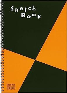 Maruman ZUAN 素描本 11.3 x 7.95 英寸(A4),无规则,24 页 (S131)