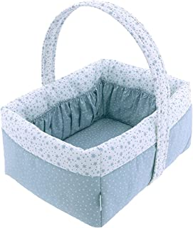 Cambrass 45947 Layette Basket 22.5x29x29 厘米 森林蓝 蓝色
