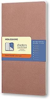 Moleskine Chapters 玫瑰红横间纤细大型笔记本