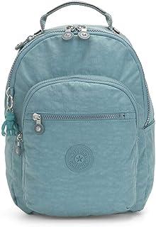 Kipling 凯浦林 基础款学生背包,35 厘米 Blue (Aqua Frost) Blue (Aqua Frost)