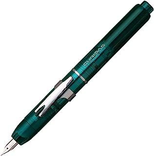 铂金钢笔 钢笔 Curelidas 細字 アーバングリーン