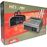 Old Skool CLASSIQ N HD 控制台与 NES 兼容 - 克隆系统可播放 8 位高清游戏墨盒