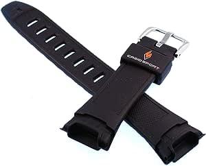 Casio 卡西欧 #10299416 原装替换表带 适用于 Pathfinder 手表 -PAW-500、PRG-140、PRW-500