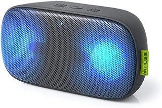Muse M-370 DJ 6W 便携式立体声扬声器黑色 - 便携式扬声器(2.0 声道,6W,有线和无线,10m Micro USB,便携式立体声扬声器)