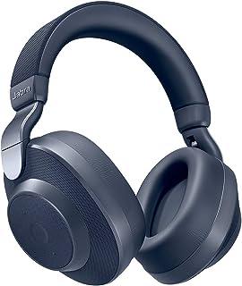 Jabra 捷波朗 Elite 85 小时头戴式耳机,主动降噪,无绳耳机,电池寿命长 - *蓝
