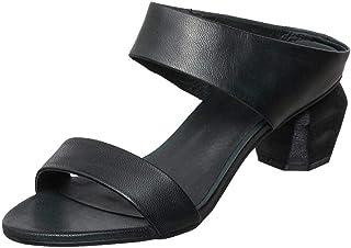 Antelope 女式 Amelia 皮革鞋跟拖鞋