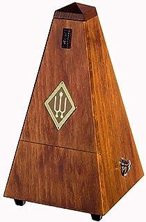 Wittner 903710 Taktell 金字塔形状节拍机木质外壳,无钟形胡桃树高光泽