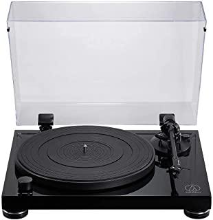 Audio Technica 铁三角 AT-LPW50PB 手动皮带驱动唱机,钢琴黑