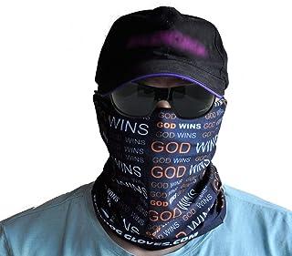 Ball Hog 手套 GOD WINS(信誉)无缝面具头巾