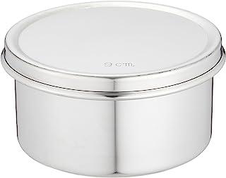 远藤商事 业务用 不含边罩 圆形黄油 18-8不锈钢 日本制造 9cm ABT48009