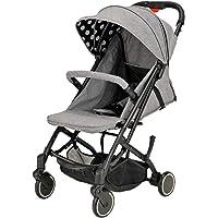 [亚马逊限定品牌] Nebio finebaby 婴儿车 折叠式 小巧 单人轮胎 收纳套 1个月~ (带保修) 便携式…