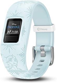 GARMIN 佳明 vivofit jr. 2,儿童健身/活动追踪手表,1年电池寿命,可调腕带,迪士尼冰雪奇缘2,Elsa,Adjustable band