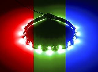 CableMod CM-LED-15-M30KRGB-R 宽光束磁性 RGB LED 带 - 黑色
