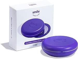 Smile Direct Club 可追踪定位器/定位器盒,由瓷砖驱动 - 用于定位器和定位器的物品定位器和定位器