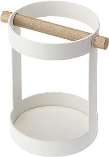 Yamazaki 工具架 白色 约W13×D10×H14.2厘米 tosca 7817
