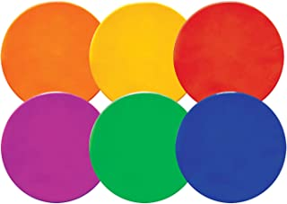 Champion Sports 9-inch Poly Spot Markers Item MSPSET (Set of 6)