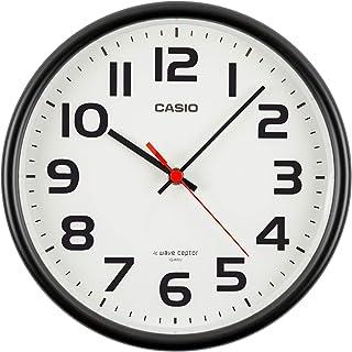 Casio 卡西欧 挂钟 电波 模拟指针 挂立两用 黑色 IQ-800J-1JF