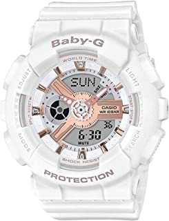 G-Shock BA110RG 婴儿 G White Rose 金 便携式音箱