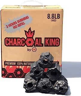 仅适用于配备专业照明设备的烧烤者 - 木炭* - * - 无添加剂 - 可生物降解 - *高烧制温度 - 超长燃烧时间 - 4 千克